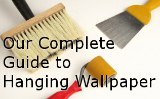 how-to-hang-wallpaper